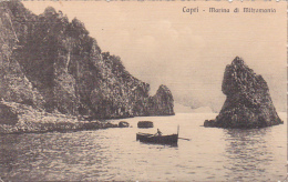 Italy 1921 Used Postcard, Capri - Used