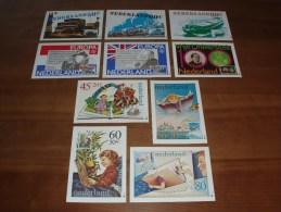 10 Maximumkaarten Philato - R1 T/m R10 (1980 Compleet) - Cartoline Maximum