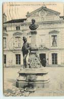 DEP 91 LONGJUMEAU HOTEL DE VILLE  MONUMENT ADOLPHE ADAM - Longjumeau