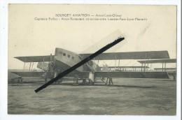 CPA- Bourget Aviation- Avion Lioré Olivier-Capitaine Ferber-Restaurant En Service Entre Londres Paris Lyon Marseille - Avions