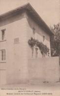 30T - 38 - Montferrat - Isère - Maison Natale De L'aviateur Pégoud (1889-1915) - Jourdan - France