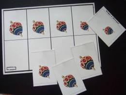 Maternelle / Ancien Carton De Jeux Avec Images / LES TOUPIES  / PLAYJEUX - Group Games, Parlour Games