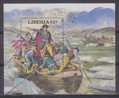 Liberia 1981 US Bicentennial M/s Used (21266) - Liberia