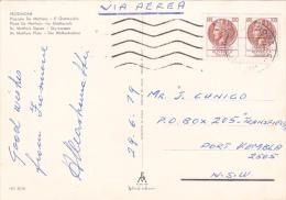 Italy 1979 Used Postcard, Coin 100 Lire Pair, Sent To Australia - 6. 1946-.. Republic
