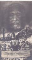 SANTINO SS.SINDONE SUDARIO  SAINT SUAIRE ANNO SANTO 1933-1934 CM.10X5,5 VOLTO DI GESU' -2-0882-23577 - Santini