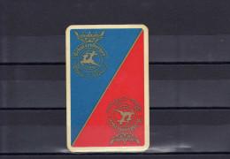 Dos D´une Carte à Jouer De La Brasserie Schutzenberger - Cartes à Jouer