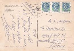 Italy 1979 Used Postcard, Coin 120 Lire Strip 3, Sent To Australia - 6. 1946-.. Republic