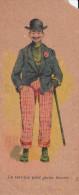 CHROMO IMAGE LE TERRIBLE PETIT JEUNE  HOMME HABILLEMENT A LA MAISON DE PARIS  BLOIS  C. MERIENNE  SCANS RECTO VERSO - Chromos