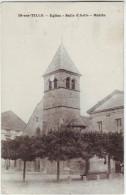 21 Is sur Tille Eglise Salle d'asile Mairie