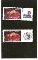 PAIRE  3804A  Logo Cérès Et Timbres Personnalisés NEUFS XX - Gepersonaliseerde Postzegels