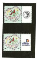PAIRE  3748A  Logo Cérès Et Timbres Personnalisés NEUFS XX - Gepersonaliseerde Postzegels