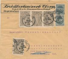 REGENSBURG - 29.8.1923  ,  Big Letter , Dispatch = 4,00 EURO - Allemagne