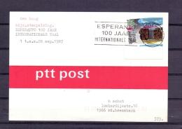 Nederland - Esperanto 100 Jaar Internationale Taal - 1987   (RM8106) - Esperanto