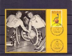 België - Club Franco Belge - Moeskroen 17/3/90  (RM8155) - Handisport