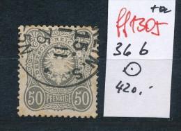 D.-Reich  Nr. 36 B     O   ( Ff1305 ) Siehe Scan  ! - Deutschland