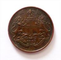 One Anna Quater 1835  Qualite - Gran Bretagna