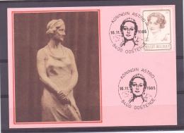 België - Koningin Astrid - Oostende 16/11/1985   (RM8472) - Koniklijke Families
