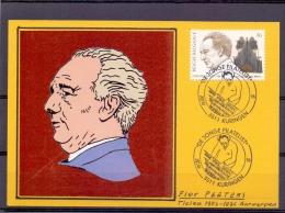 """België - Flor Peeters - """"De Jonge Filatelist"""" - Kuringen 26/10/1996  (RM8550) - Music"""