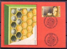 België - Natuur - Studiegroep Postzegels A. Buzin - Deurne 30/8/1997  (RM8575) - Abeilles