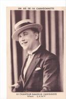 24356 Chanteur . Max Lamy ; Chanteur Danseur Fantaisiste. As Chansonnette -sans Ed - - Cabarets