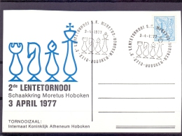 Belgi� - 2e lentetornooi S.K. Moretus Hoboken -  Hoboken 3/4/1977   (RM8606)
