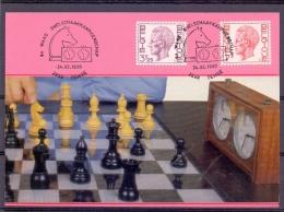 Belgi� - 5e Waas Snelschaakkampioenschap - Temse 24/3/1990  (RM8608)