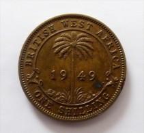 Est Africa One Shilling  1949  Qualite - Gran Bretagna