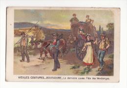 Chromo  CHICOREE VOELCKER COUMES  à Bayon   Les Vieilles Coutumes   Bourgogne   Fête Des Vendanges - Chromos
