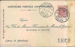 er340 - petragalla - potenza - cartolina commerciale-1917