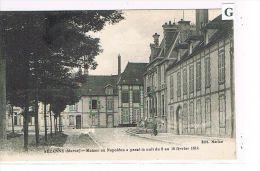CPA (51) SEZANNE - Maison Où Napoléon A Passé La Nuit, Février 1814 - (O 033) - Sezanne