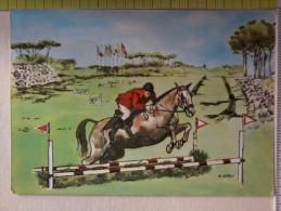 Cart.-  XVII OLIMPIADE - ROMA 1960 - ....Et Cingite Tempora Lauris. EQUITAZIONE. - Non Classificati