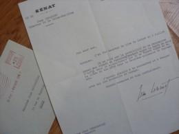 Jean LECANUET (1920-1993) Ministre GARDE Des SCEAUX - Maire ROUEN ... - AUTOGRAPHE - Autografi