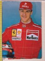 Cart.-  Piloti Formula  1 - Ferrari - M. Schumacher. - Personalità Sportive