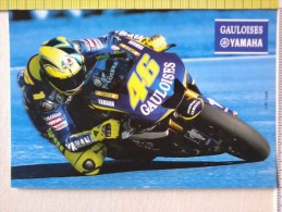 Cart.-  Piloti  Moto - Yamaha - J.M.Lisse. - Personalità Sportive