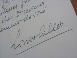 Louis GILLET (1876-1943) - Ecrivain & Historien ACADEMIE FRANCAISE - Autographe - Autographes