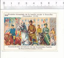 Image / Rentrée Triomphale De La Famille Royale à Bruxelles (1918) / Histoire De Belgique  / IM 166/5 - Sonstige