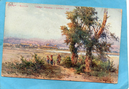 GRECE---CORFOU -VILLAGE DE PERAMA-belle Oblitération De 1914 - Grèce