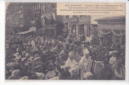 24371 GUINGAMP - FETES CINQUANTENAIRES Charles Blois Prelats Procession Reliques 3916 Hamonic ! Etat !