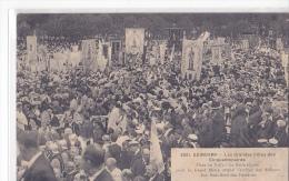 24372 GUINGAMP - FETES CINQUANTENAIRES Foule Messe Bannieres 3921 Hamonic ! Etat ! - Guingamp