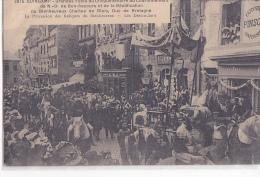 24373 GUINGAMP - FETES CINQUANTENAIRES Procession Reliques 3915 Hamonic ! Etat ! Patisserie Pinson - Guingamp