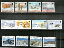 7457 Britisches Antarktis Territorium BAT Postfrisches Lot Mi 321-24,231-234,241-44 - Britisches Antarktis-Territorium  (BAT)