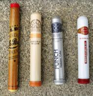 TABAC  )    BOITE / ETUI  A  CIGARES  -   LA PAZ - H. UPMANN  -  PUNCH  -  ROMEO  Y  JULIETA - Zigarrenetuis