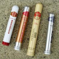 TABAC  )    BOITE / ETUI  A  CIGARES  -    ROMEO  Y  JULIETA   -   PARTAGAS  -  PENAMIL  -  PUNCH - Zigarrenetuis