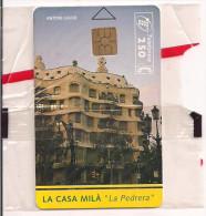LA CASA MILA  LA PEDRERA ANTONIO GAUDI - Tarjetas Telefónicas