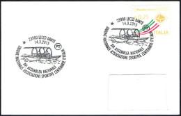 OLD ROWING - ITALIA LECCO 2015 - ASSEMBLEA UNIONE NAZIONALE ASSOCIAZIONI SPORTIVE CENTENARIE - SMALL SIZE CARD - Canottaggio