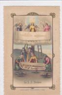 CARD  OSTENSIONE SS.SINDONE SUDARIO SAINT SUAIRE VOLTO DI GESU'TORINO  -2-0882-23587 - Devotieprenten
