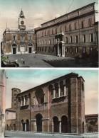 EMILIA ROMAGNA-RAVENNA PIAZZA DEL POPOLO PALAZZO DI TEODORICO (NR.2 CART.) - Ravenna