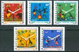 1972 Repubblica Centroafricana  Horcen Horologerie Set MNH** B223 - Orologeria