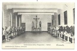 CPA - WESTMALLE - Cistercienzer Abdij - Trappisten - Refter - Abbaye - Cachet Relais   // - Malle