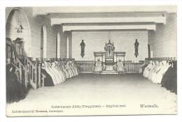 CPA - WESTMALLE - Cistercienzer Abdij - Trappisten - Kapittel Zaal - Abbaye - Cachet Relais   // - Malle